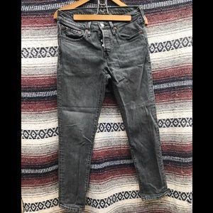Levi's 501 Tapered Jeans: 27